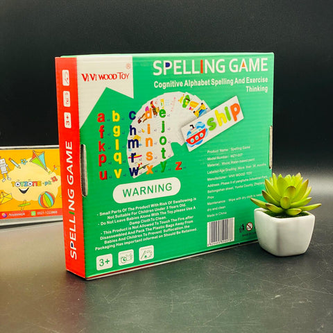 Image of Word Spelling Game