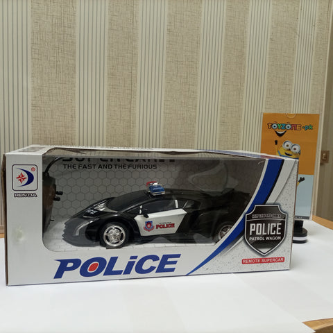 Remote Control Police Car With Light & Sound