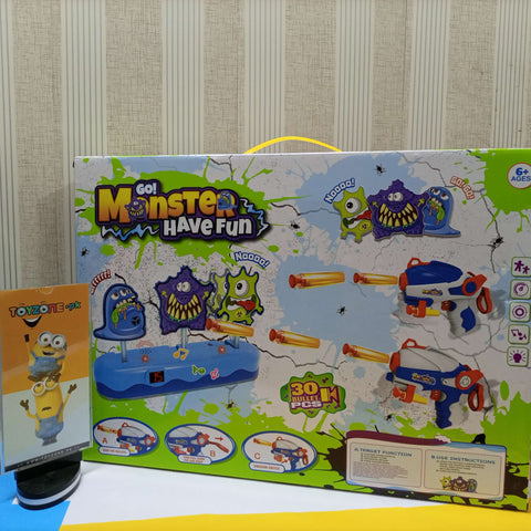Monster Target Shooting Fun Game