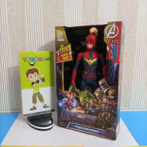 Avenger Captain Marvel With Helmet