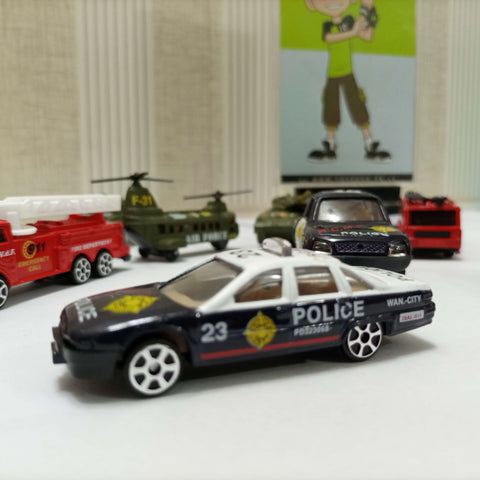 Street Machine 10 Dinky Cars Play Set