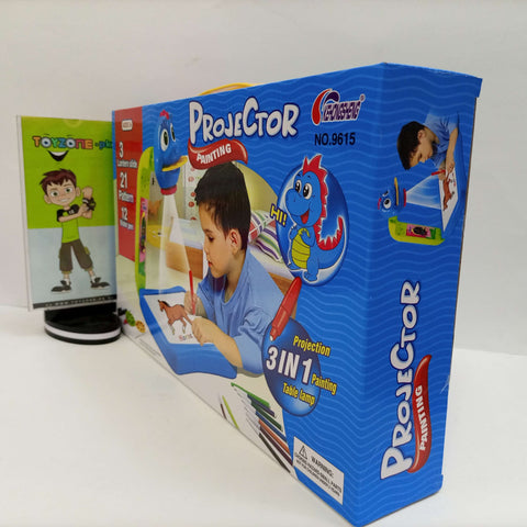 Image of Attractive 3 in 1 Projector Painting Toy for Kids