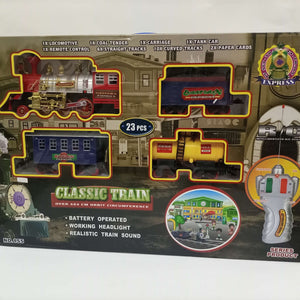 Electric Classic Train With Light & Sound