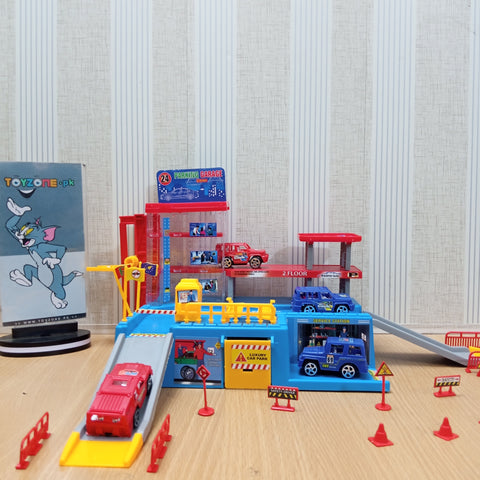Image of Parking Garage Play set