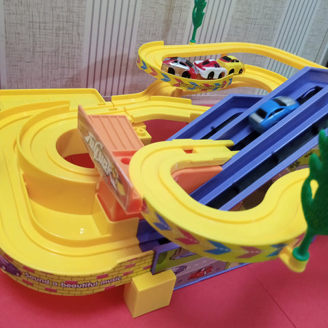 Racing Track Set Toy for Kids
