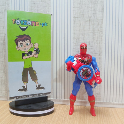 Image of Spider man Watch With Figure
