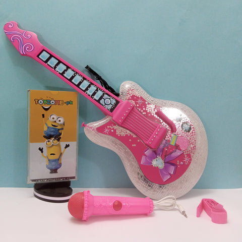 2 In 1 Electric Guitar Play Set with microphone