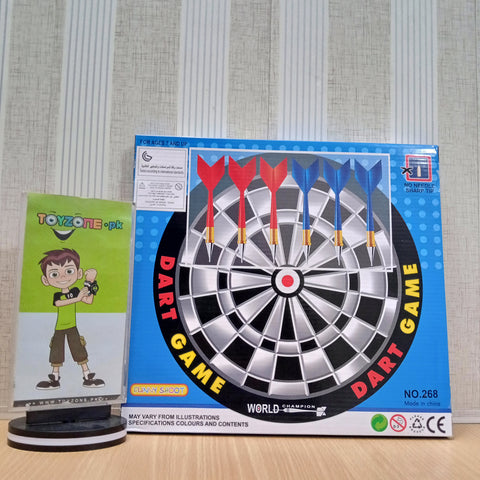 Image of Dart Game with 6 Darts