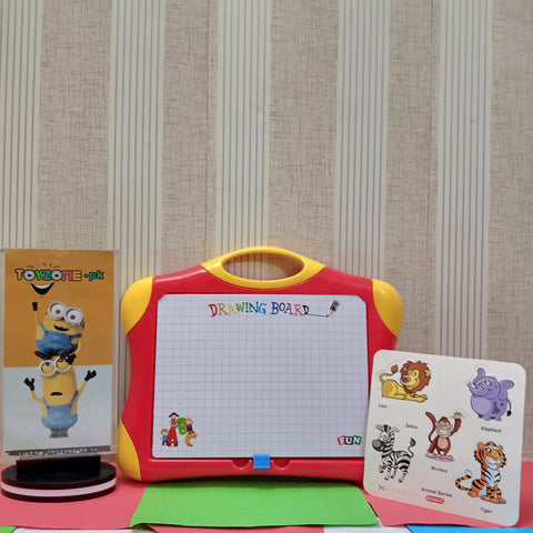Image of Magnetic Drawing Board Case 2 in 1