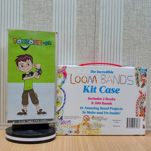 Loom Bands Kit Case with 500 Bands