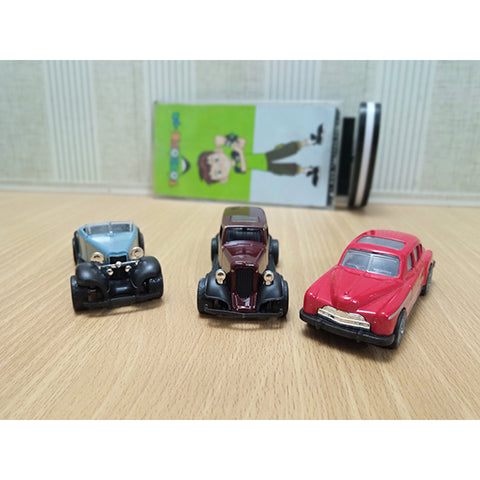 Metal Old Vintage Car 12 pcs