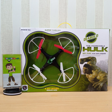 Incredible Hulk Quad copter - ST0