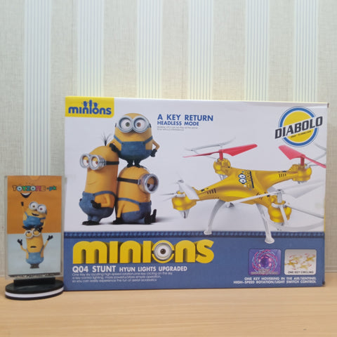 Incredible Minnion Quad copter - STO