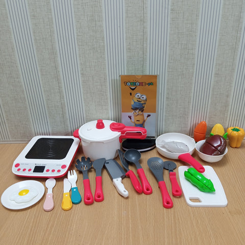 Plastic Simulation Cookware Cooking Set