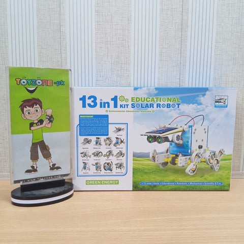 Image of 13 In 1 Educational Solar Robot Kit