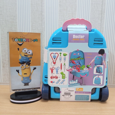Image of 4 In 1 Backpack With Accessories - STO