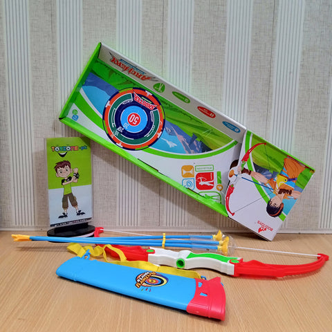 Image of Archery Sports Playset With Bucket - STO