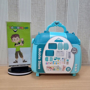 3 in 1  Mobile Backpack With Accessories