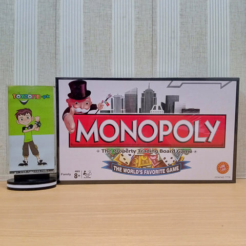 Monopoly Board Game - Black Theme - TZP1