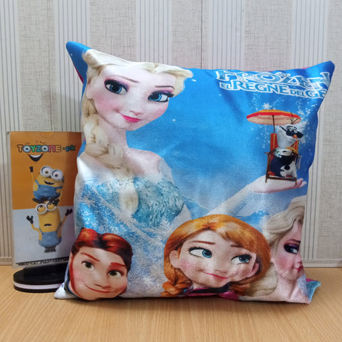 Soft Plush Pillow - Anna Elsa - TZP1