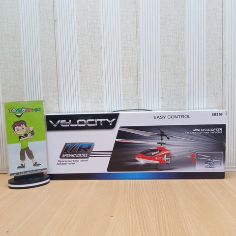 Velocity Remote Control Flying Helicopter - TZP1