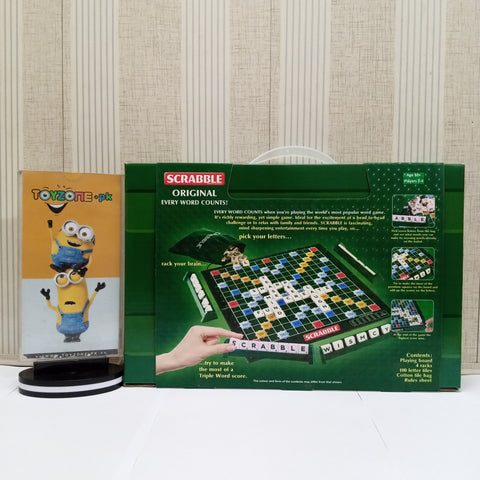 Image of Metal Scrabble Board Game - TZP1