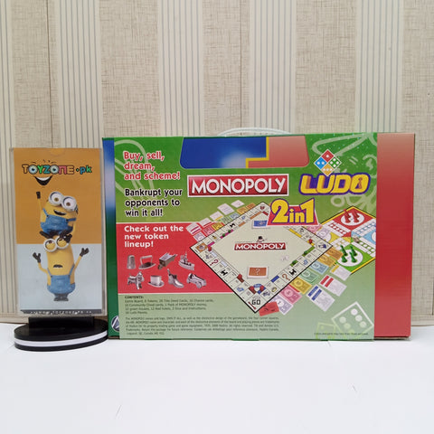 2 in 1 New Lineup Monopoly Game