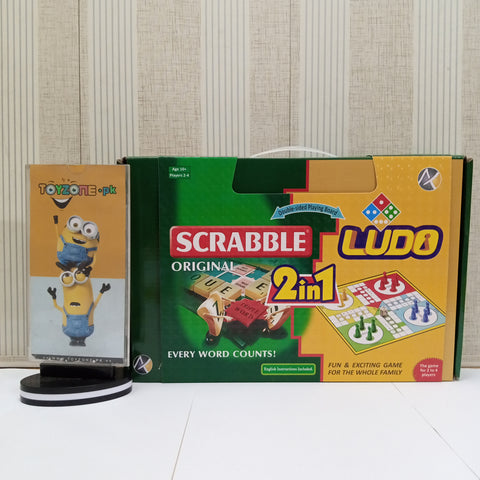 Scrabble Original 2 In 1 LuDo King - TZP1