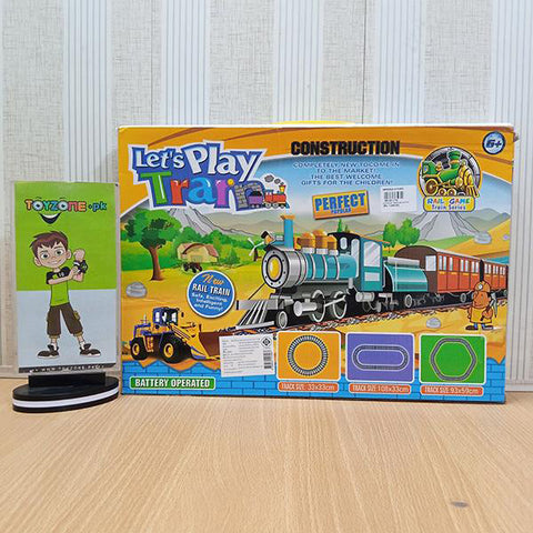 Image of Let's Play Construction Train Set - TZP1