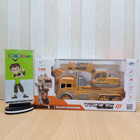 Image of RC Transformer Truck Hand Gesture - TZP1