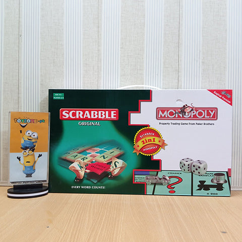 Monopoly & Scrabble 2 in 1 - STO