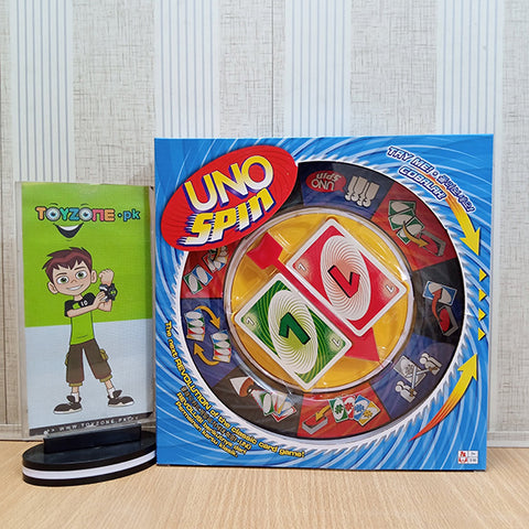 Image of UNO Spin Wheel and Cards Game - TZP1