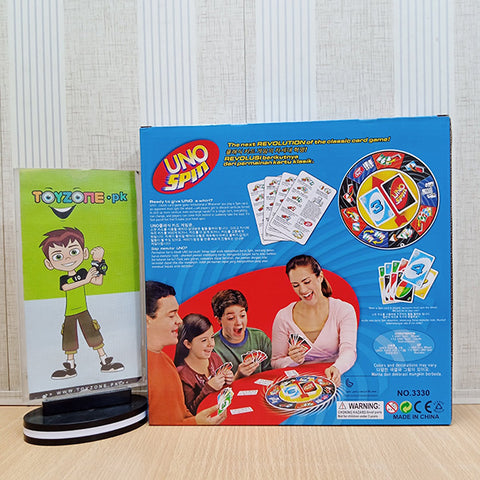 UNO Spin Wheel and Cards Game - TZP1