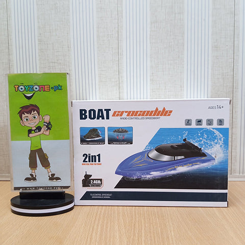 Image of 2 in 1 RC Crocodile Boat - TZP1