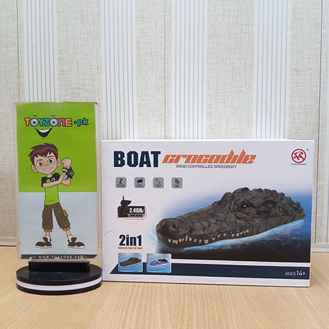 2 in 1 RC Crocodile Boat - TZP1
