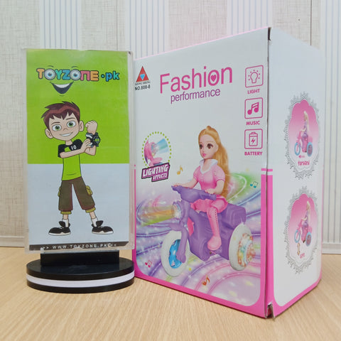 Fashion Performance doll with Light And Sound - TZP1