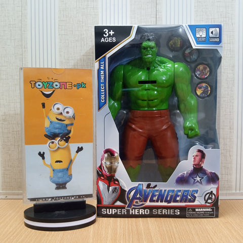 Avengers  Figure with Lights and Music and Weapons Hulk - TZP1