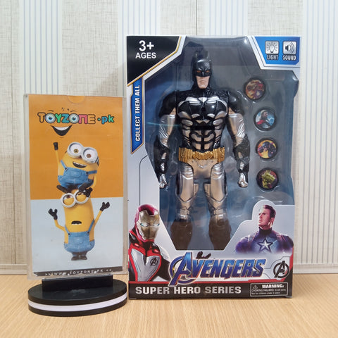 Avengers  Figure with Lights and Music and Weapons Batman - TZP1