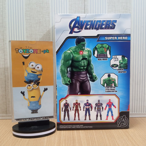 Avengers  Figure with Lights and Music and Weapons captain America - TZP1