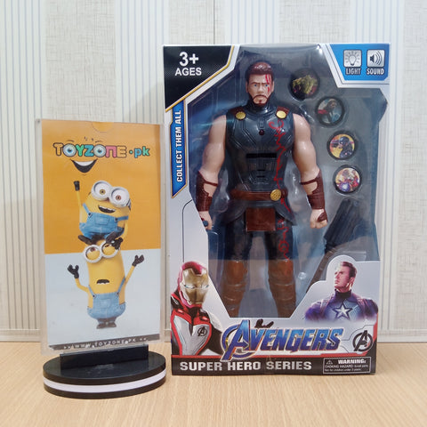 Avengers  Figure with Lights and Music and Weapons Thor - TZP1