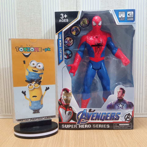 Avengers  Figure with Lights and Music and Weapons Spider Man