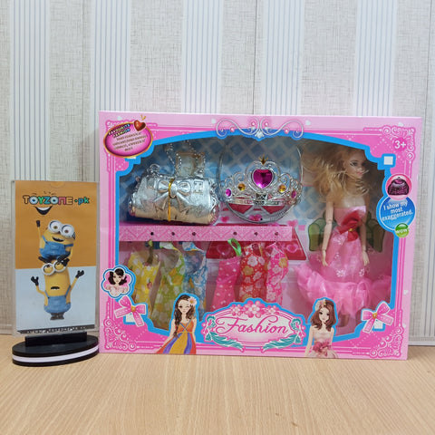 Princess Doll With Dresses