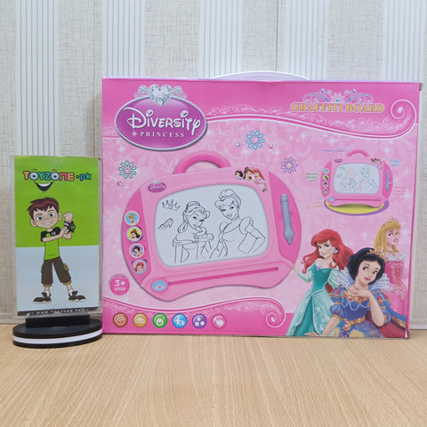 Image of Disney Princess Cartoon Magnetic Drawing Board - TZP1
