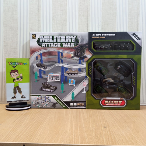 Military Track Playset