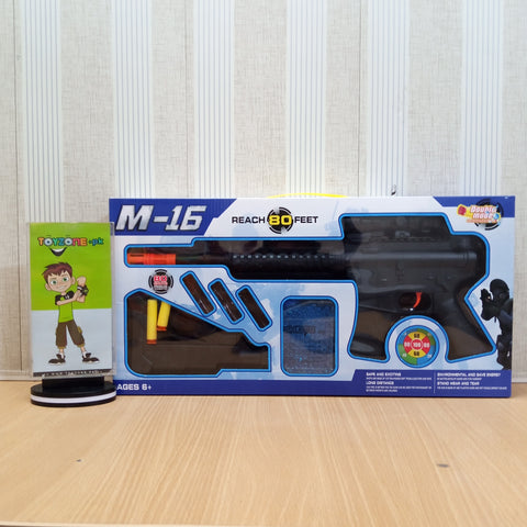 M-16 Manual Dart & Water Bullet Shooter  Gun - TZP1