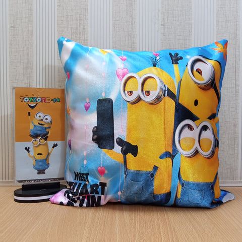 Soft Plush Minion Pillow - TZP1