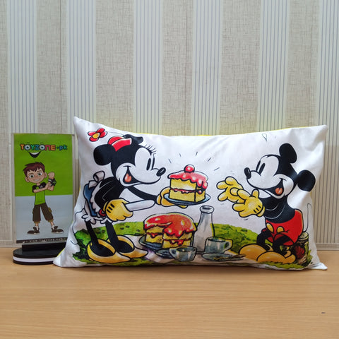Soft Plush Micky Mouse Pillow - TZP1