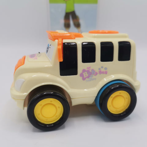 Friction Bus with Lights and Sound - TZP1