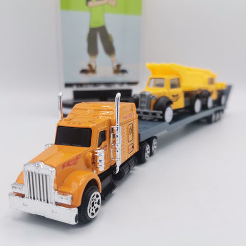 Die-cast Construction Vehicles Hauler Truck - TZP1