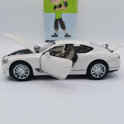 Die-cast Metal Body Bentley Continental GT - TZP1